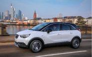Opel Crossland X dimensioni consumi motori prezzi
