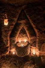 Altro particolare della caverna