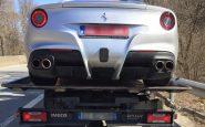 Polizia sequestra Ferrari a un uomo Tenetevela, ne ho un'altra
