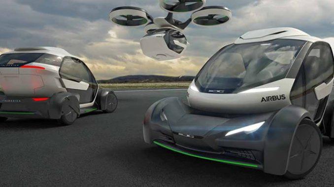 Pop.Up: caratteristiche dell'auto volante con guida autonoma