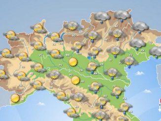 Previsioni meteo domenica 26 marzo (2017)