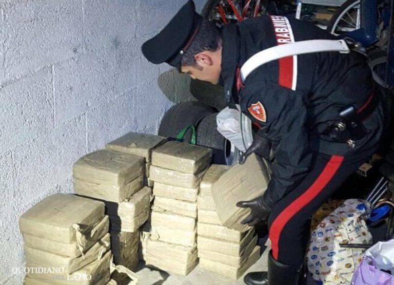 Roma: 281 chili di hashish sequestrati per un valore di 2.5 milioni di euro