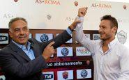 Roma, Pallotta offerto rinnovo leggendario a Totti
