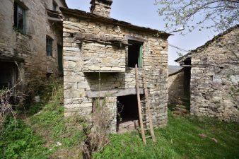 Edifici abbandonati nel borgo