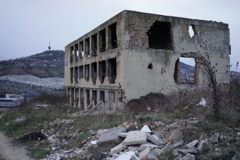 Ex motel olimpico abbandonato a Sarajevo