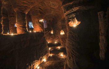 Scorcio di Caynton Caves
