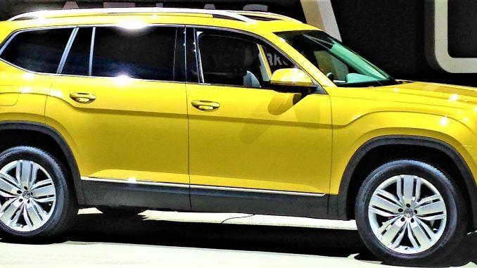 Volkswagen Atlas: dimensioni, consumi, motori, prezzi