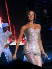 Victoria Adams alla reunion delle Spice nel 2007