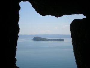 Vista del Lago di Bolsena dal Monte Bisenzio