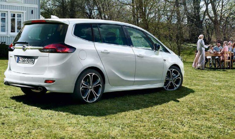 Opel Zafira a metano: consumi, prezzi, dimensioni, motori
