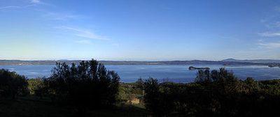 Vista sul Lago di Bolsena da Bisenzio