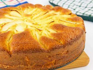 Torta di mele con mascarpone senza glutine
