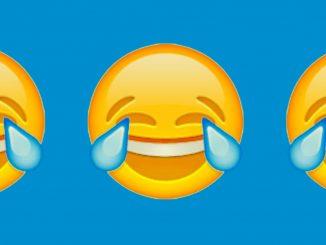 """L'emoticon """"faccina con le lacrime di gioia"""", la più usata nei social network"""
