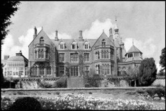 Vecchia immagine della Hafodunos Hall