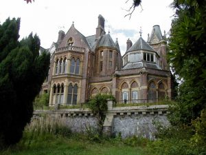 La casa in stato di abbandono