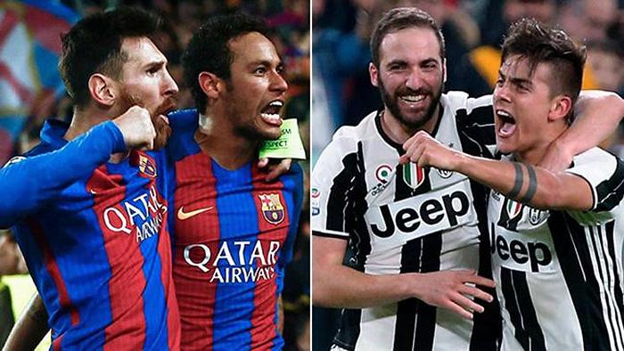 Champions League, Juve-Barça: è già sfida a colpi di tweet