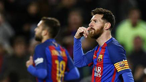 Goleada del Barcellona: 5 reti al Celta Vigo e Messi che mima una telefonata