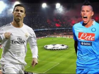 Stasera il big match Napoli-Real Madrid: in città tutto fermo