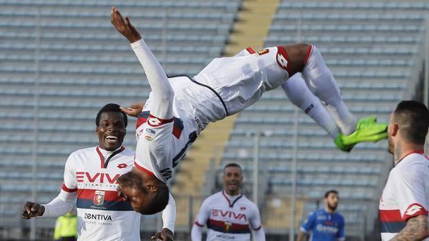 Empoli-Genoa, 0-2. Ntcham: l'uomo della rinascita