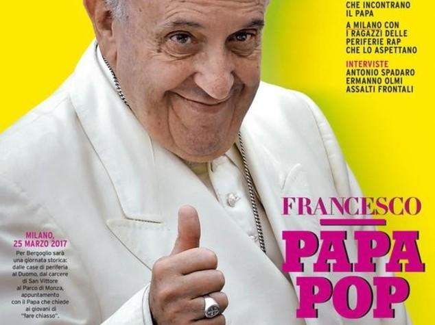 Papa Francesco icona pop. Ecco la copertina di marzo del Rolling Stone