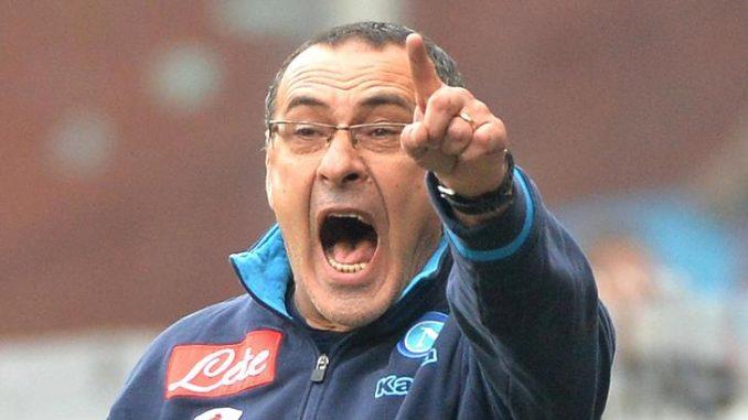 """Napoli, Sarri senza peli sulla lingua: """"Mi fa schifo giocare alle 12.30"""""""