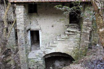 Casa abbandonata di Ca' Scapini