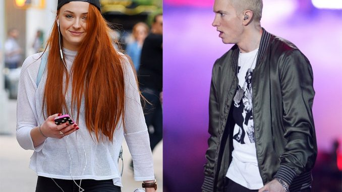 Sophie Turner, la bella Sansa Stark in Game of Thrones, rappa Eminem