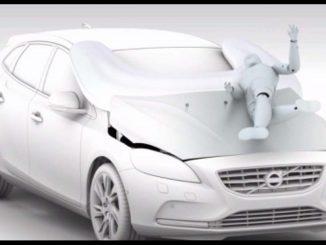 Airbag per i pedoni: cos'è e come funziona