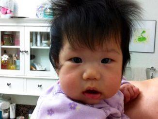 Neonati capelloni: tutte le foto esilaranti