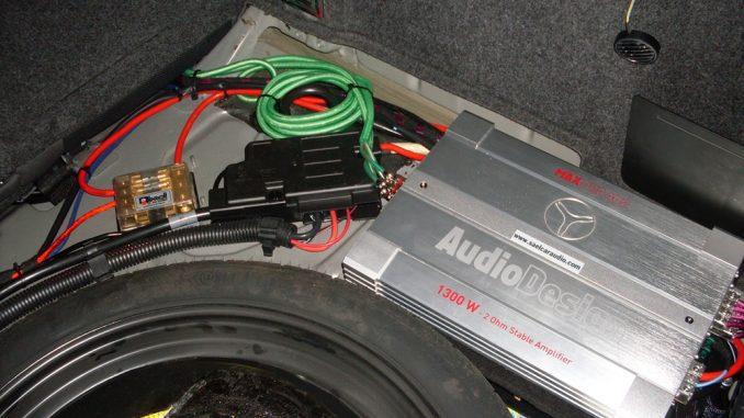 Amplificatore auto