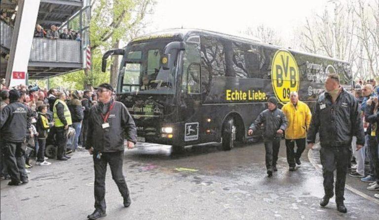 Borussia Dortmund, esplosione coinvolge bus della squadra. Un giocatore ferito