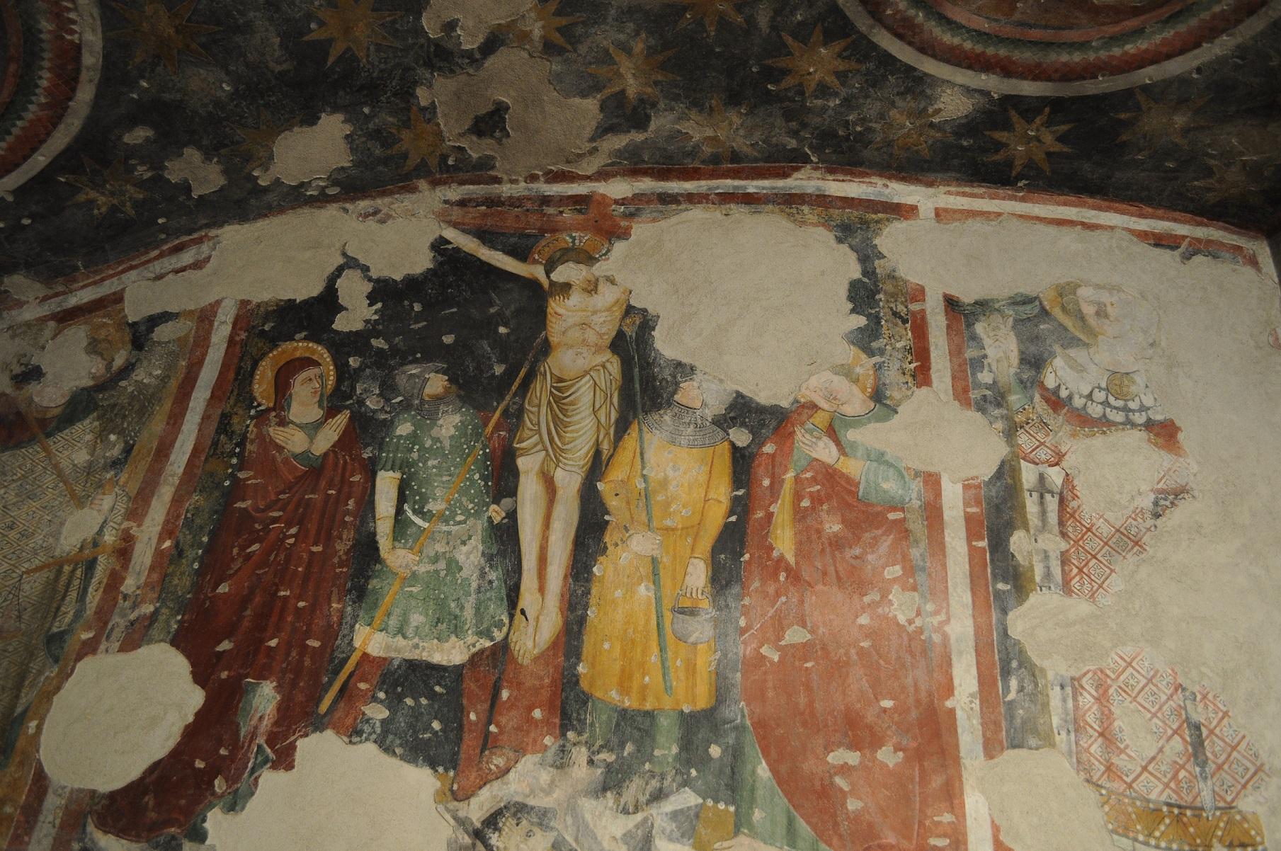 Affresco nel Sacello di San Michele
