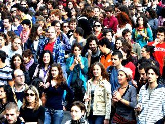 Gente en Italia