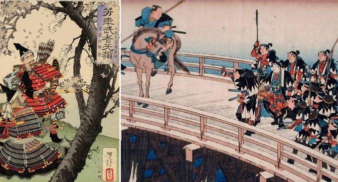 guerrieri giapponesi