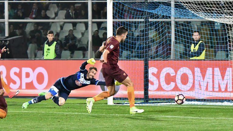 Pescara-Roma 1-4: i giallorossi sbaragliano e mandano Zeman in Serie B