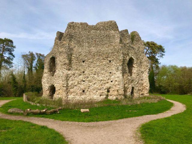 Il-castello-di-Odiham-in-Hampshire-09