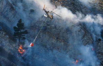 Incendio Monte Moro