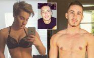 Transgender pubblica le foto della sua trasformazione