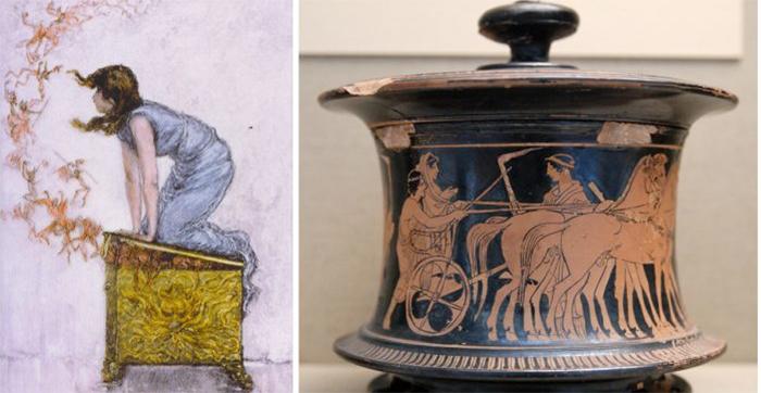 Il vaso di pandora quali sono le origini del mito for Mito vaso di pandora