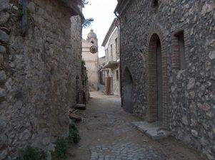 Una via del borgo