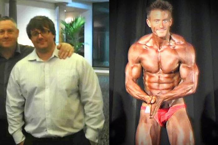 Dieta drastica: da sovrappeso a culturista in poco tempo