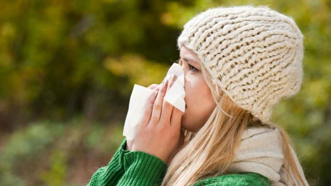 Allergia ai pollini sintomi sul viso