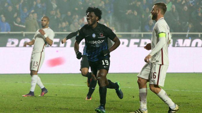 Roma-Atalanta1-1: due pali per i giallorossi e la Juve che si allontana