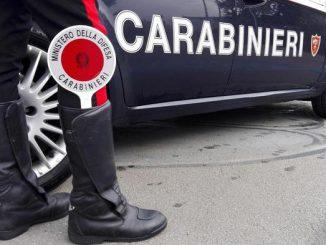 Carabinieri arrestano operaio