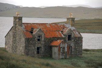 Casa infestata in Scozia