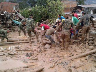 Colombia, due italiani dispersi nella frana di Mocoa