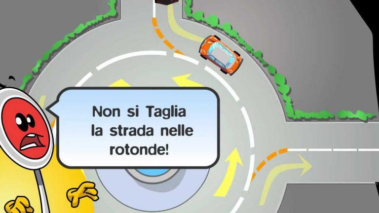 come guidare alle rotonde