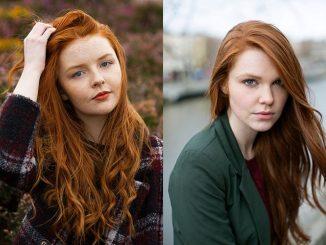 Capelli rossi: immagini che sottolineano la bellezza