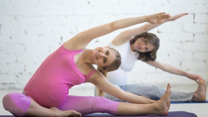 Palestra in gravidanza esercizi da fare a casa - Palestra a casa esercizi ...