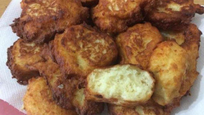Golosità con patate e formaggio